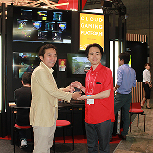「CLOUD GAMING PLATFORM」、Best of Show Awardにてグランプリ受賞